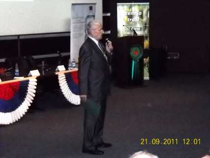 Предавање Николе Алексића на отварању Еко-конференције 26.9.2011