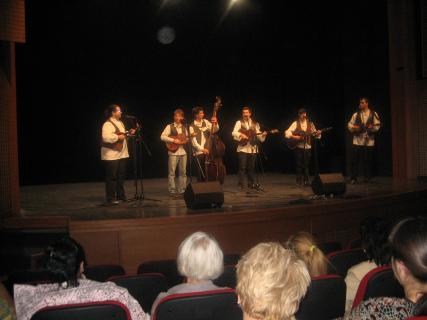 """Концерт тамбурашког састава """"Равница""""  у сали НИС-а"""