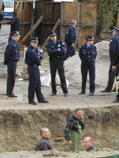 Протест на Алмашком гробљу у Новом Саду